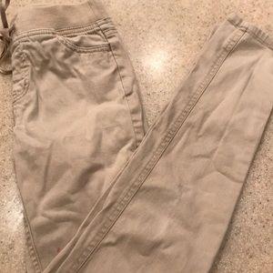 Girl's Justice Khaki Uniform Pants